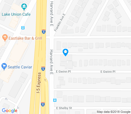 map of Portage Bay apartments for rent