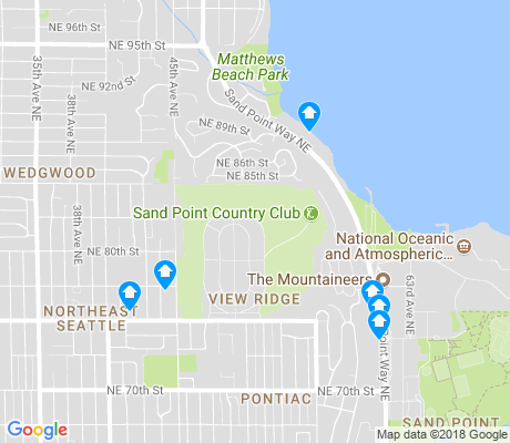 map of View Ridge apartments for rent