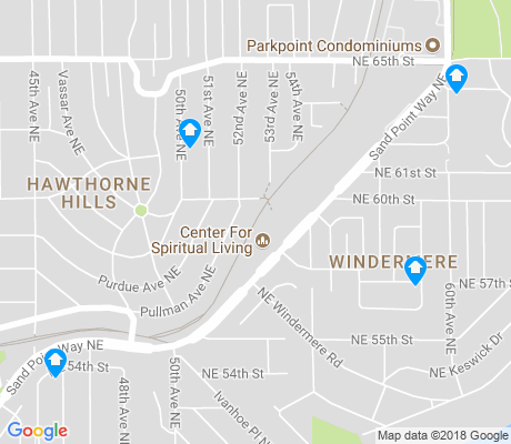 map of Windermere apartments for rent
