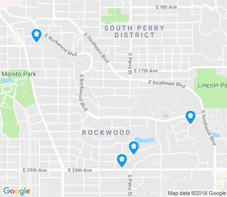 map of Rockwood apartments for rent