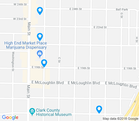 map of Arnada apartments for rent