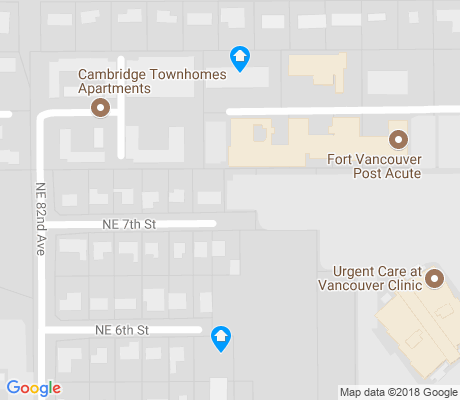 map of North Garrison Heights apartments for rent