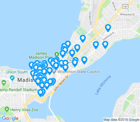map of 53703 apartments for rent