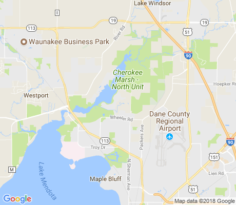 map of Cherokee Park apartments for rent