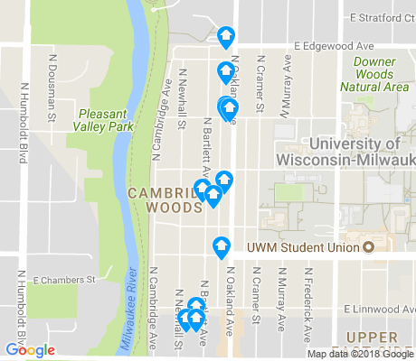 map of Cambridge Heights apartments for rent
