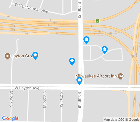 map of Castle Manor apartments for rent