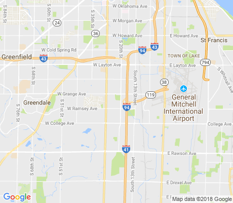 map of Copernicus Park apartments for rent