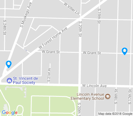 map of Forest Home Hills apartments for rent