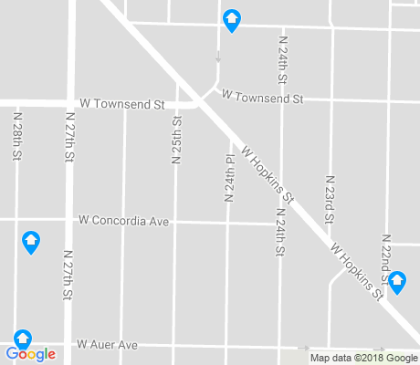 map of Franklin Heights apartments for rent