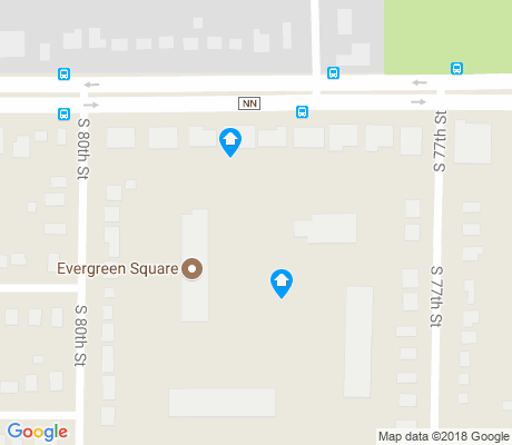 map of Highwood Estates apartments for rent