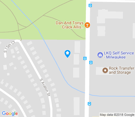 map of Maitland Park apartments for rent