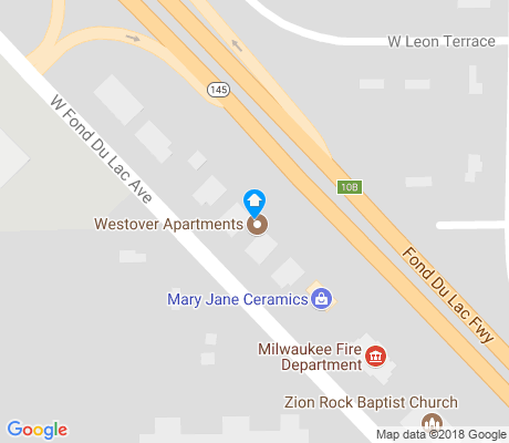 map of Maple Tree apartments for rent
