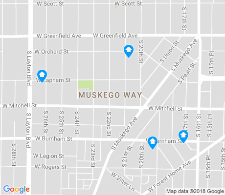map of Muskegg Way apartments for rent