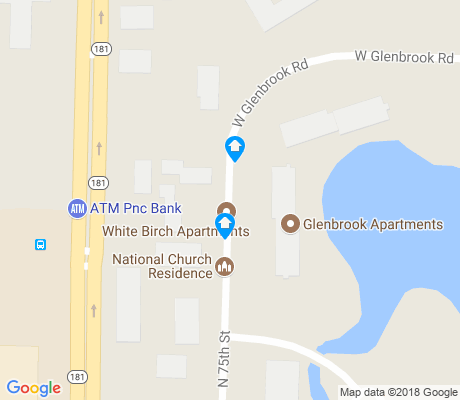 map of Northridge Lakes apartments for rent