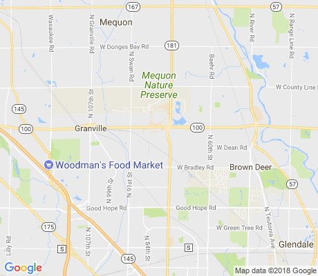 map of Servite Woods apartments for rent