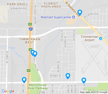 map of Timmerman West apartments for rent