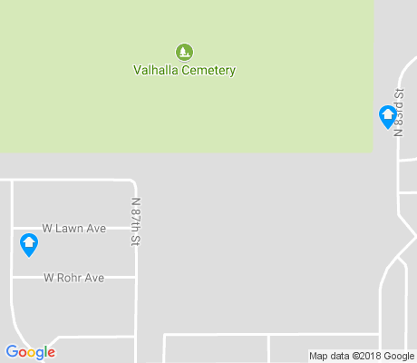 map of Valhalla apartments for rent