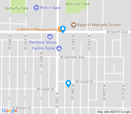map of Walnut Hill apartments for rent
