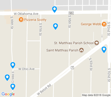map of West View apartments for rent