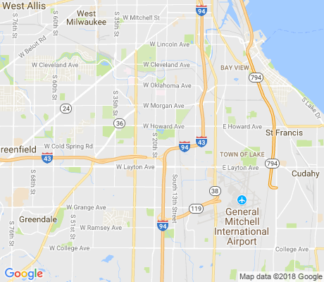 map of Wilson Park apartments for rent