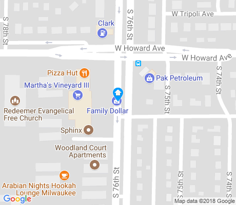 map of Woodland Court apartments for rent