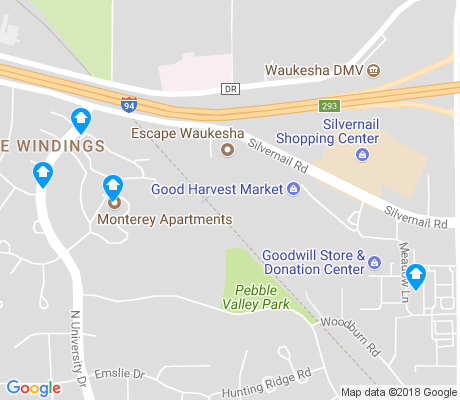 map of Pebble Valley apartments for rent