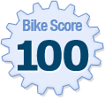 Bike Score of 18 Aberdeen Street Ottawa ON Canada
