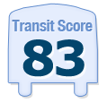 Transit Score of 1118 West Barry Avenue Chicago IL 60657