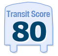Transit Score of 2450 North Seminary Avenue Chicago IL 60614