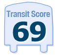 Transit Score of 2630 West Evergreen Avenue Chicago IL 60622