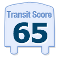 Transit Score of 4447 North Tripp Avenue Chicago IL 60630