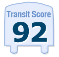 Transit Score of 847 West Monroe Street Chicago IL 60607