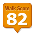 Walk Score of 18 Aberdeen Street Ottawa ON Canada