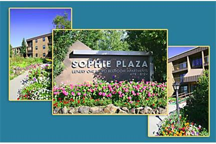 Sophie Plaza Apartments - Fairbanks Sophie's Plaza is located in a quiet neighborhood on the southeast side of Fairbanks