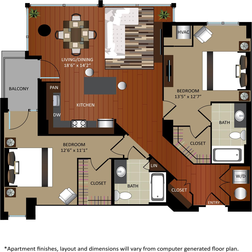 Gables City Vista Apartments, Washington D.C. DC