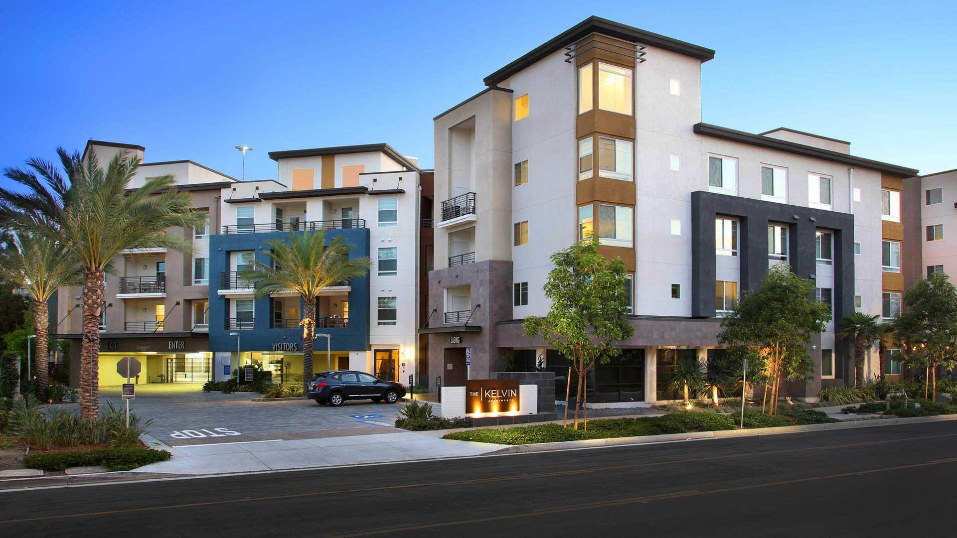 Apartment 1 Bedroom The Kelvin Apartments Irvine Ca Walk Score