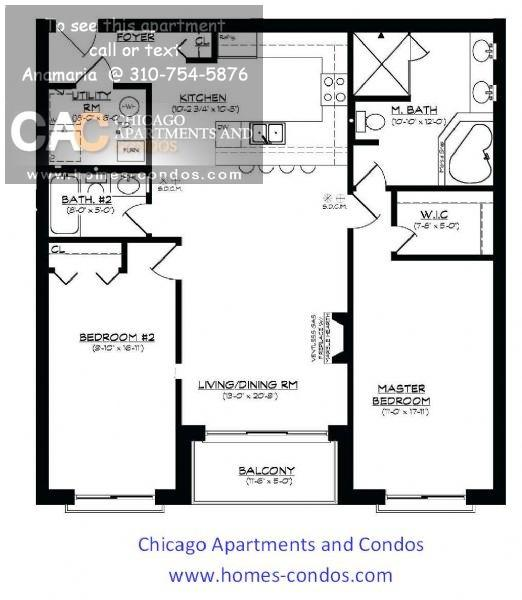 Apartments Ravenswood Chicago    Bed