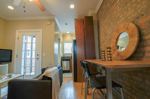 Home is where you can almost hear the cheers from Wrigley Field. Apartments photo #1