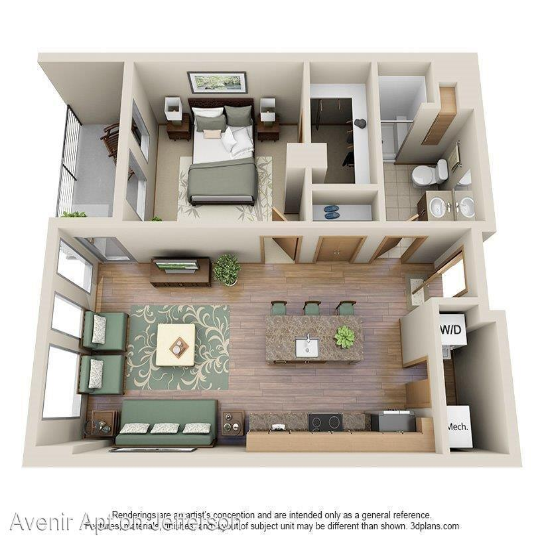 1437 N. Jefferson St. Apartments photo #1