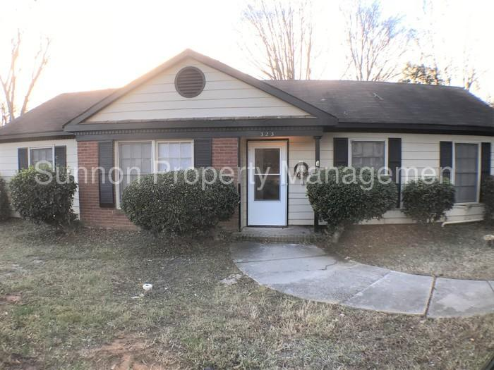 This Four BR Two BA ranch is move-in ready. Washer/Dryer Hookups!