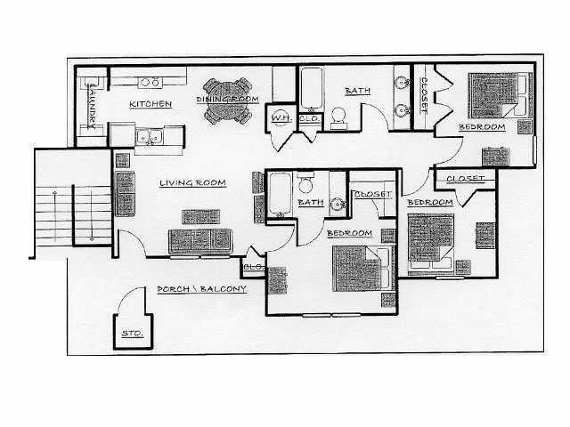 Chapel Ridge Apartments Richland Ms