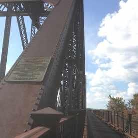 Photo of Kentucky & Indiana Railroad Train Bridge & Crossing