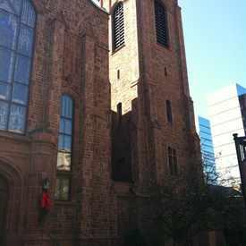 Photo of First Presbyterian church