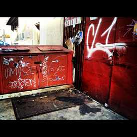 Photo of Eldridge Street Graff