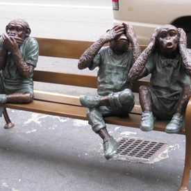 Photo of Three Monkeys