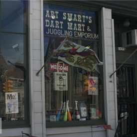 Photo of Art Smarts Dart Mart and Juggling Emporium in Lower East Side