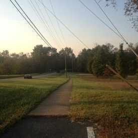 Photo of Sidewalk On The Way To Crozet Elementary