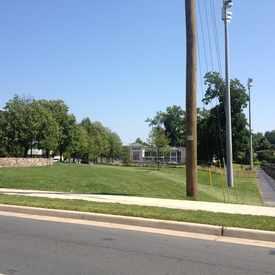 Photo of UVA Pocket Park