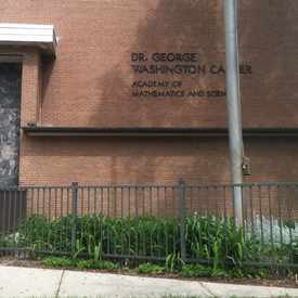 Photo of Dr. George Washington Carver School in Brewer's Hill