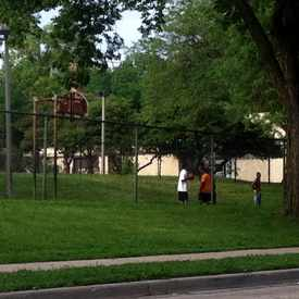 Photo of Clinton Rose Park Basketball Courts in Harawbee